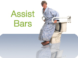Grab Bars Assist Transfer