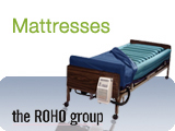 Roho Medical Mattresses for users with pressure ulcers, bed sores, and myocutaneous flap surgery patients.