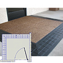 SafePath Two Sided Entry Level Landing Commercial Threshold Ramp