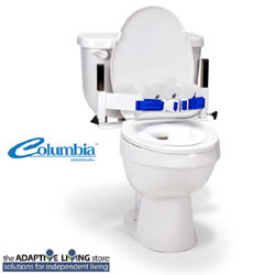 Columbia Lo-back toilet support