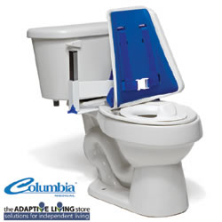 Hi-back Toilet Support With Padding