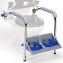 Columbia Toilet Support Arm/Foot Rests