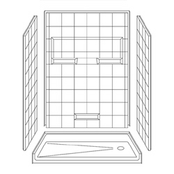 4LES5430B17T Best Bath Barrier-Free Shower