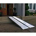 SUITCASE Ultra strong, single fold portable Wheelchair Ramp Signature Series