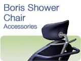 Boris Shower Commode Chair Accessories