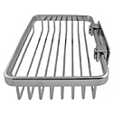 Chrome Rectangular Soap Basket