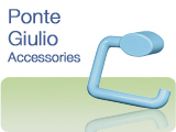 Ponte Giulio Grab Bars and Accessories