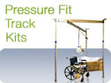 Pressure Fit Ceiling Track Lift