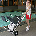 Pro Pool Ranger Pathfinder Pool Lift Transport Cart