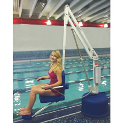 ADA Compliant Revolution Pool Lift Aquatic Lift