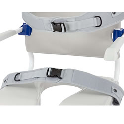 Padded Lap Belt for Aquatec Ocean Shower Commode Chairs