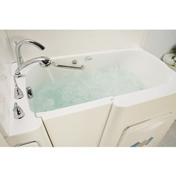 Escape Plus Whirlpool Walk-in Tub with Water Jets