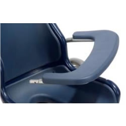 Boris Blue padded arm table support