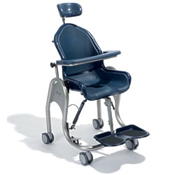 Boris Tilt-in-Space Pediatric Adult Shower Toilet Commode Chair