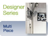 Bestbath Designer Series Tile Inlay Shower Surrrounds