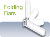 Grab Bars Folding Hinged Swing Away