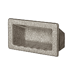 Collection Faux Marble Recessed Soap Caddy