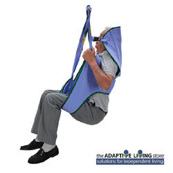 Arjohuntleigh Toilet Loop Sling with Head Support