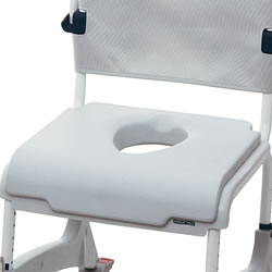 Soft Seat Overlay for Aquatec Ocean Shower Commode Chairs