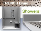 Trench Drain ADA Roll In Showers Bestbath Accessible