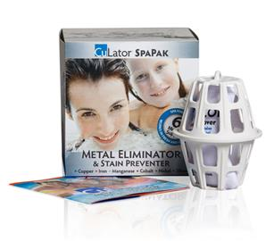 CuLator SpaPak Metal Eliminator and Stain Preventer LARGE