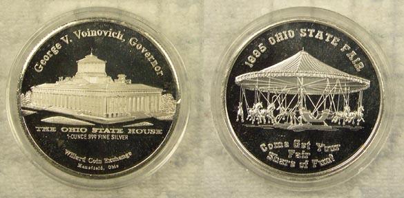 999 silver art bar 1995 ohio state fair for Craft show ohio state fairgrounds