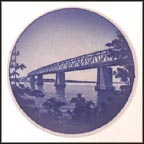 Little Belt Bridge, Royal Copenhagen Plaquette #20