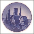 Ribe Cathedral, Royal Copenhagen Plaquette #29