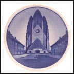 Grundtvig's Church, Royal Copenhagen Plaquette #33