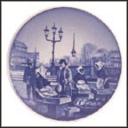 Fish Sellers, Copenhagen, Royal Copenhagen Plaquette #45
