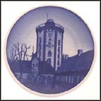 Round Tower, Royal Copenhagen Plaquette #8