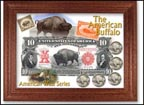 American Buffalo Buffalo Nickel Collector Frame THUMBNAIL