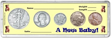 1936 A New Baby! Coin Gift Set THUMBNAIL