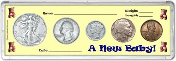 1937 A New Baby! Coin Gift Set THUMBNAIL