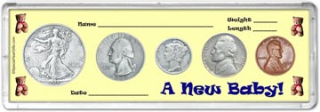 1938 A New Baby! Coin Gift Set THUMBNAIL