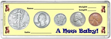 1939 A New Baby! Coin Gift Set THUMBNAIL