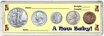 1941 A New Baby! Coin Gift Set THUMBNAIL