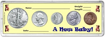 1942 A New Baby! Coin Gift Set THUMBNAIL
