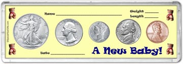 1944 A New Baby! Coin Gift Set THUMBNAIL