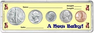 1946 A New Baby! Coin Gift Set THUMBNAIL