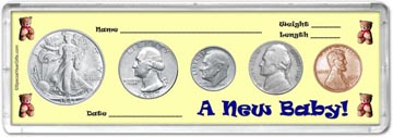 1947 A New Baby! Coin Gift Set THUMBNAIL