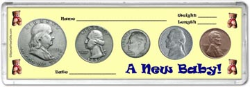 1950 A New Baby! Coin Gift Set THUMBNAIL