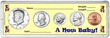 1979 A New Baby! Coin Gift Set THUMBNAIL