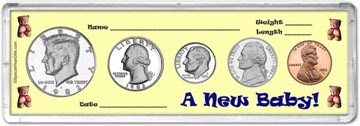 1982 A New Baby! Coin Gift Set THUMBNAIL