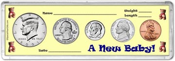 2001 A New Baby! Coin Gift Set THUMBNAIL