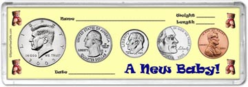 2005 A New Baby! Coin Gift Set THUMBNAIL