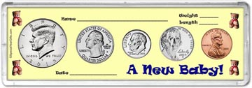 2015 A New Baby! Coin Gift Set THUMBNAIL
