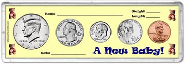 2016 A New Baby! Coin Gift Set THUMBNAIL