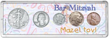 1936 Bar Mitzvah Coin Gift Set THUMBNAIL