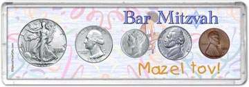 1942 Bar Mitzvah Coin Gift Set THUMBNAIL